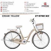 sepeda mini exotic et9788mx city bike