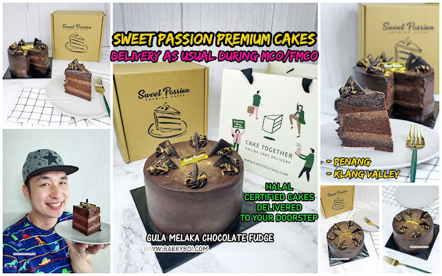 Sweet Passion Premium Cakes Penang Klang Valley Delivery Penang Blogger Influencer