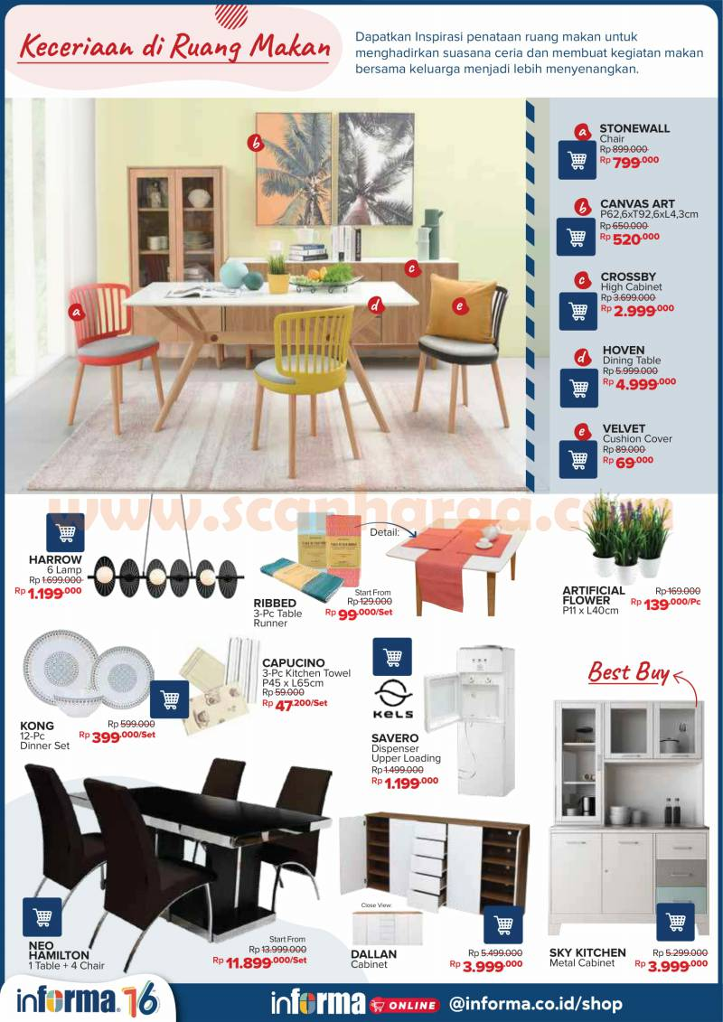 Katalog Promo Informa November 2020 Scanharga