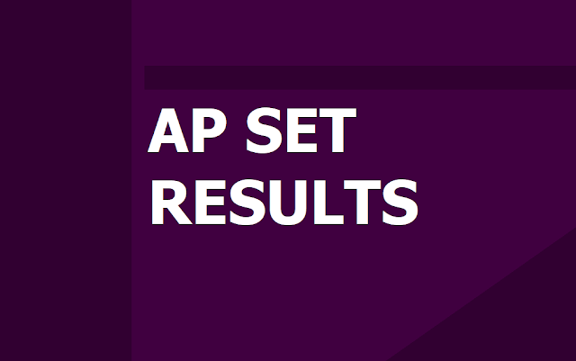 AP SET 2019 Results on 24th October, How to Check APSET Results at apset.net.in