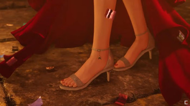 aerith feet