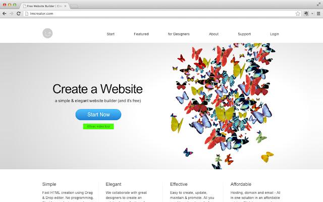 IM Creator có thư viện đa dạng, thích hợp cho việc tạo web bán hàng trên nền tảng máy tính và di dộng