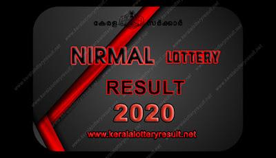 NIRMAL  LOTTERY RESULTS 2020