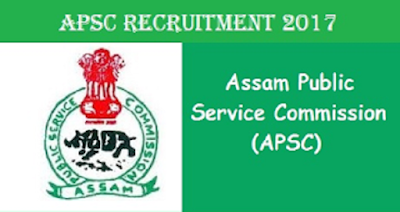 APSC Recruitment 2017 apply for Assistant Engineer and Inspector of schools at Assam Last Date : 31-05-2017