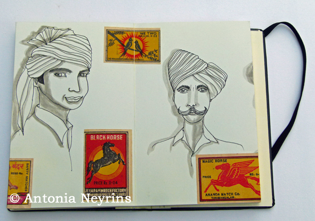 stage carnet carnets de voyage pat masioni antonia neyrins aquarelle dessin croquis