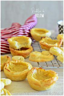 2 recetas con hojaldre deliciosas : Pastel de nata y palmeritas de hojaldre