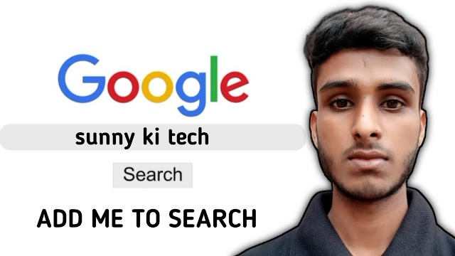 How to get your name on google