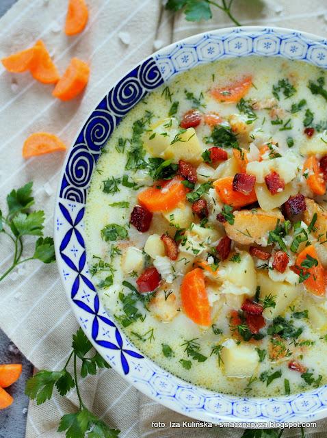 Chowder - zupa rybna