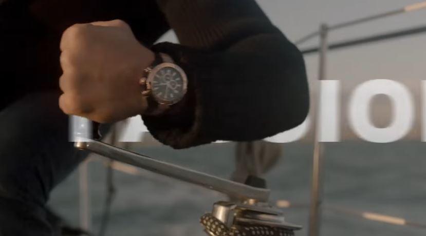 Gerard Butler testimonial di Festina per i nuovi orologi ''Time For Work'' - 2016