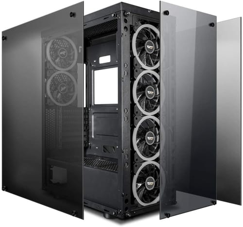 Review darkFlash Phantom Black ATX Mid-Tower PC Case