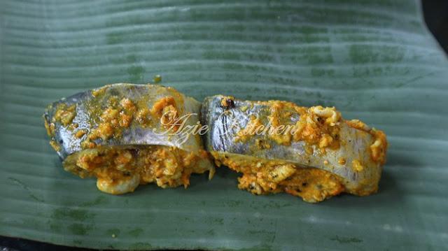 Ikan Tenggiri Bakar Lauk Wanita Dalam Pantang