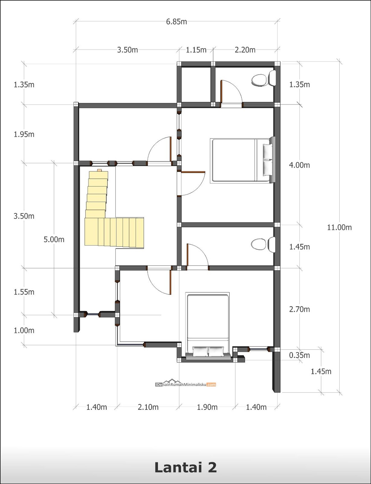 Image Result For Desain Interior Rumah Minimalis Modern Type