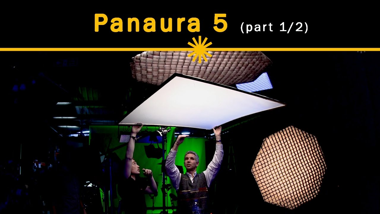 Key lighting techniques with dedolight Panaura soft light