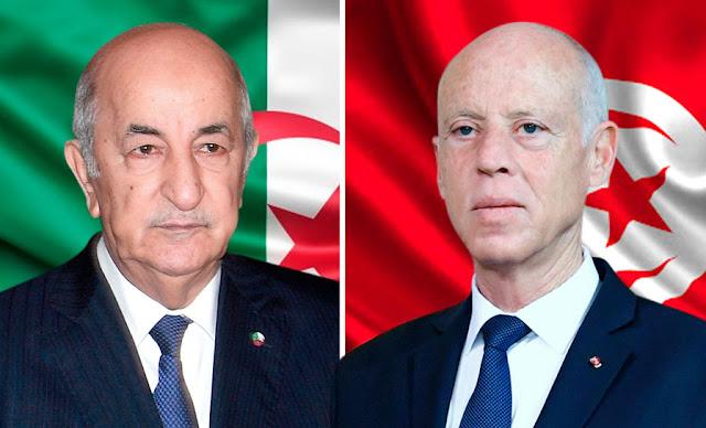 taboun algerie et kais said tunisie