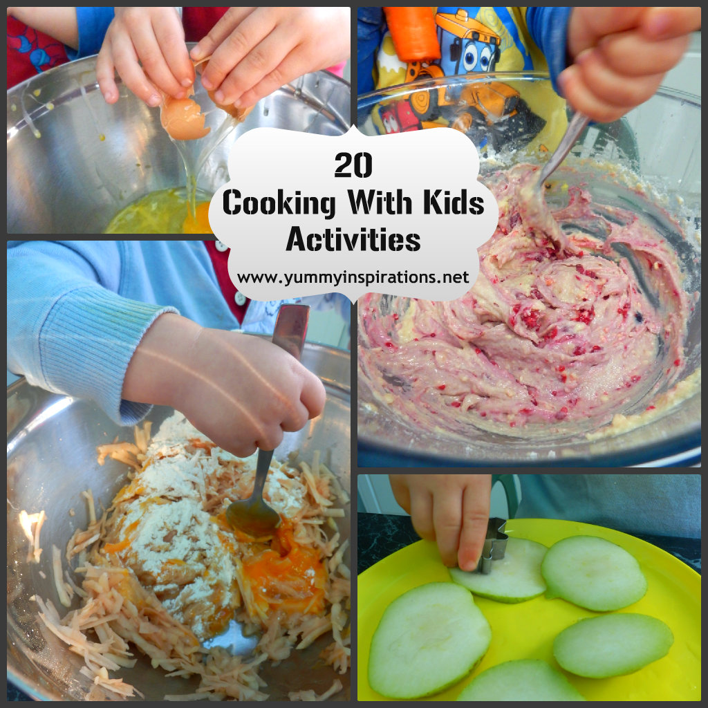 20 Cooking With Kids Activities