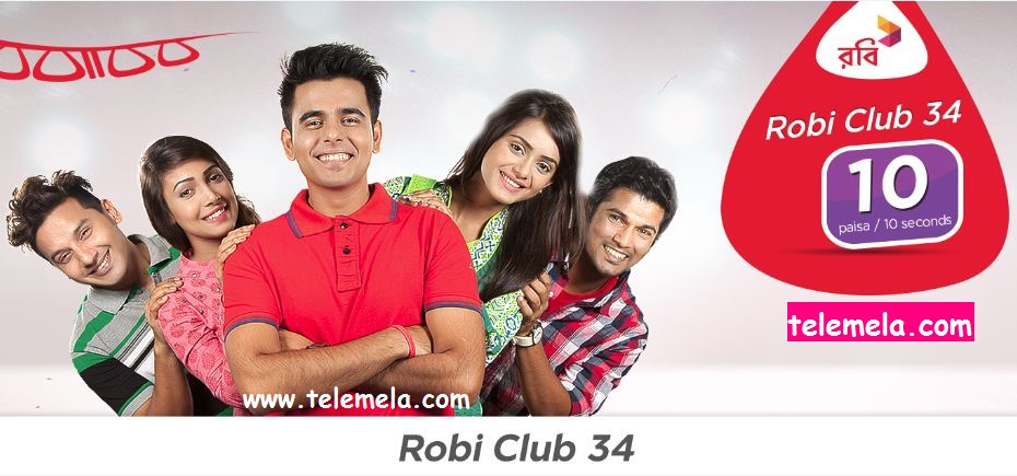Robi Club 34 Package Tariff