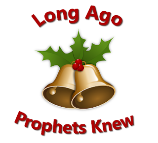 Ringing bells with holly:    Long ago, prophets knew Christ would come, born a Jew, come to make all things new; bear his people's burden, freely love and pardon.  Refrain: Ring, bells, ring, ring, ring! sing, choirs, sing, sing, sing! When he comes, when he comes, who will make him welcome?  2 God in time, God in man, this is God's timeless plan: he will come, as a man, born himself of woman, God divinely human. 3 Mary, hail! Though afraid, she believed, she obeyed. In her womb, God is laid: till the time expected, nurtured and protected, 4 Journey ends! Where afar Bethlem shines, like a star, stable door stands ajar. Unborn Son of Mary, Saviour, do not tarry!
