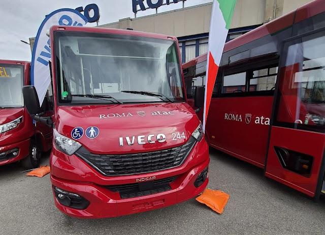 Atac: presentati i nuovi bus corti, in servizio nei prossimi giorni