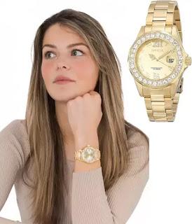 Invicta Women's Pro Diver Gold-Tone Watch