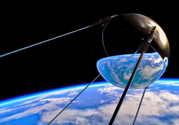 Gambar satelit Palapa diluncurkan