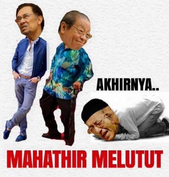 Serangan Mahathir Sudah Tidak Relevan Dan Ternyata Sia-Sia
