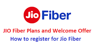 jio fiber plans, how to register for jio fiber