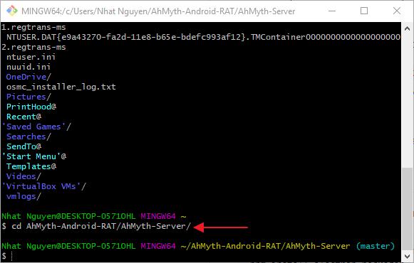 AhMyth-Androi-RAT/AhMyth-Server