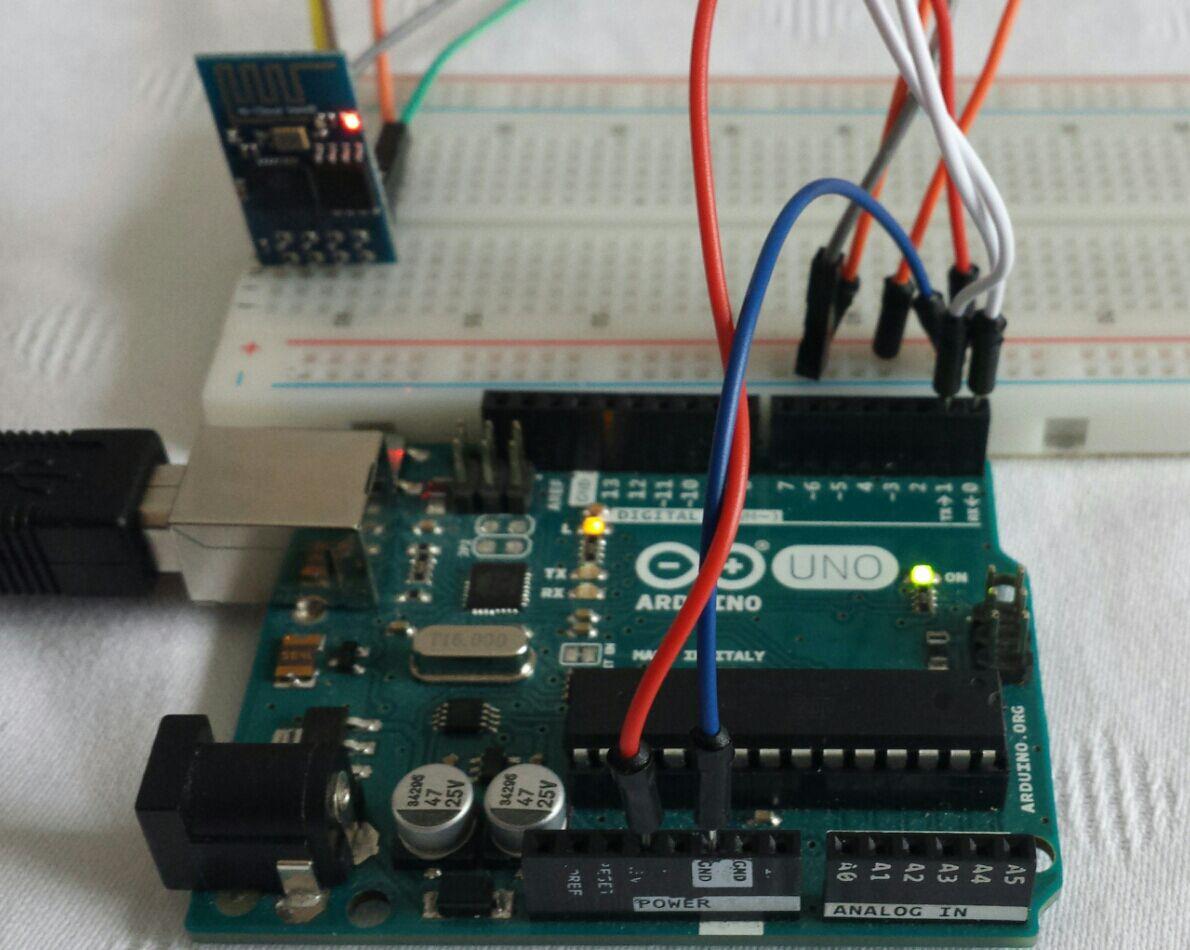 michaelsarduino: ESP 8266 mit Arduino verbinden