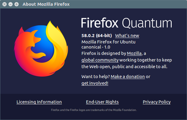 Upgrade Firefox Di Linux
