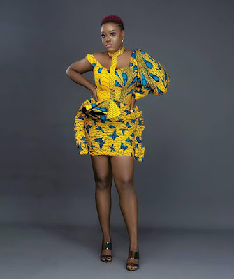 We have seen our grandmothers and mothers rock some wonderful native Ankara attires 41 Latest Ankara Prom Dress Styles Attires For African Fashion Lookbook