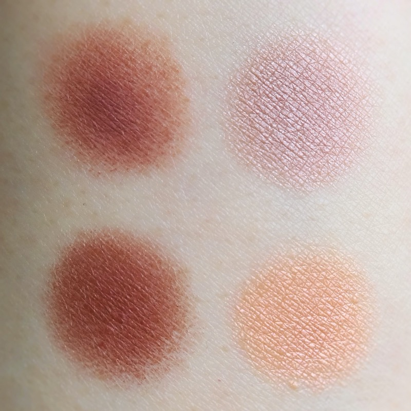 Chanel Les 4 Ombres Warm Memories swatches