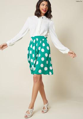 Faldas con bolsillos a los lados