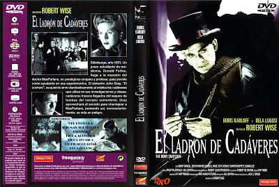 Carátula dvd: El ladrón de cadáveres / The Body Snatcher