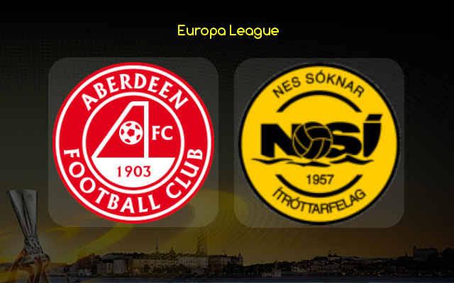 Aberdeen vs NSI Runavik Prediction, Team News and Odds