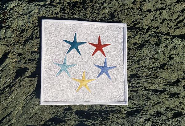 Starfish Dance quilt block | DevotedQuilter.com
