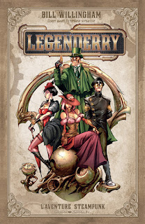 LEGENDERRY L'aventure Steampunk