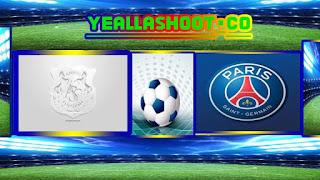 مشاهدة مباراة باريس سان جيرمان و أميان يلاشوت
