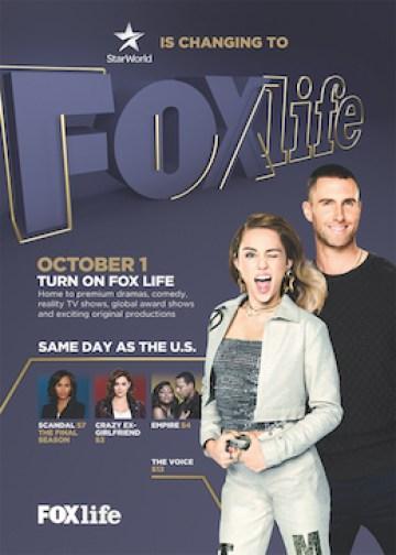 StarWorld Tukar kepada FOX Life