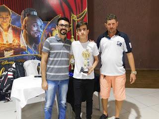 Aluno Baraunense vence torneio em Guarabira