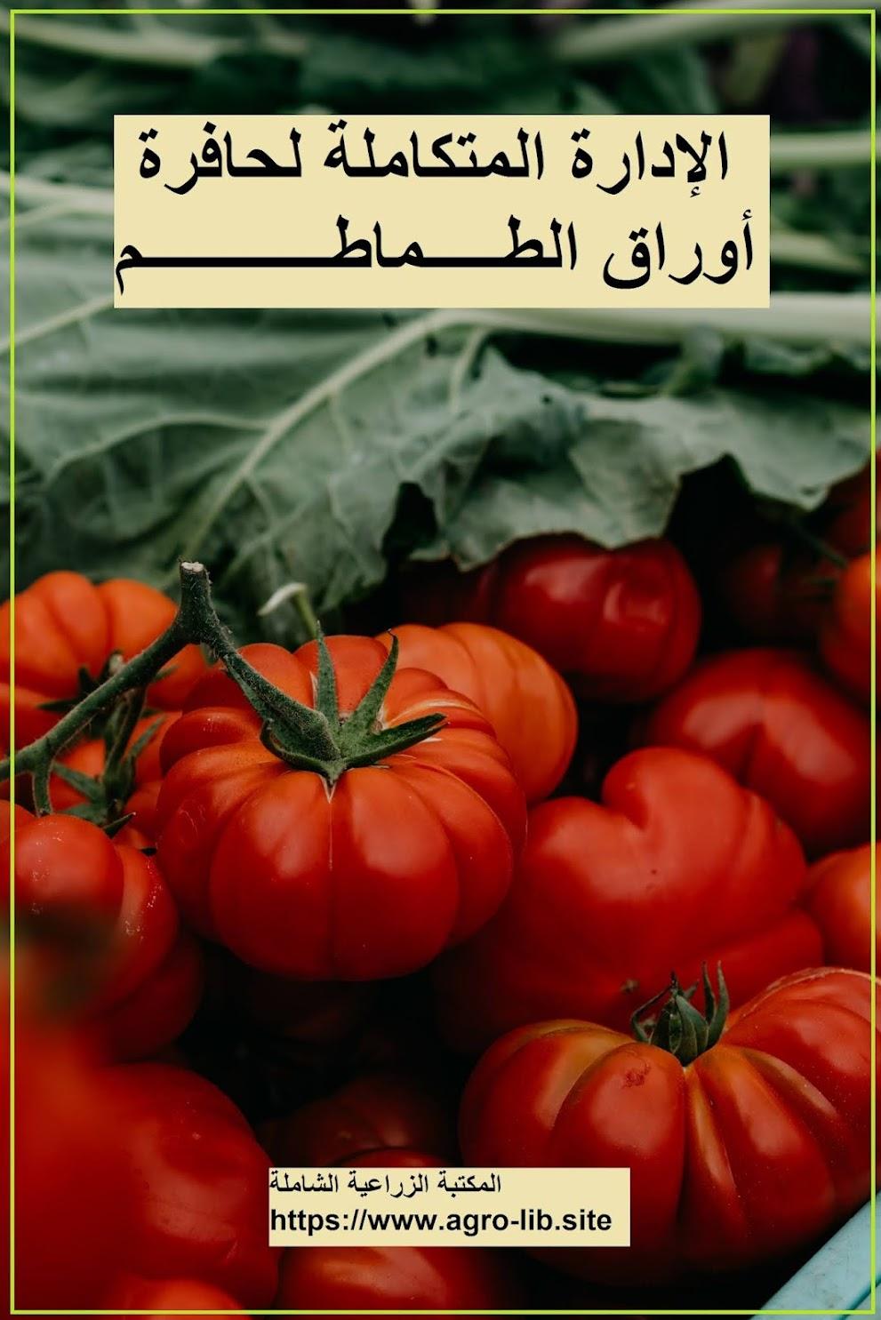 كتاب : الإدارة المتكاملة لحافرة أوراق الطماطم