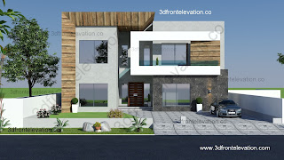 Modern Villa Design Elevation Oman, Saudi Arabia, Dubai, Morroco ...