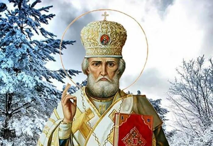 Молитва в Новый Год Святому Николаю