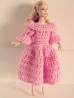 TUTORIAL GRATIS VESTIDO BARBIE DE CROCHET