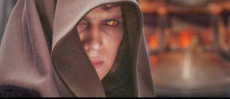 Anakin only has eyes for Sidius