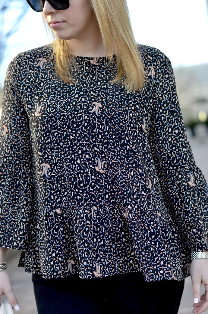 madewell printed blouse - A Blonde's Moment - @rachmccarthy7