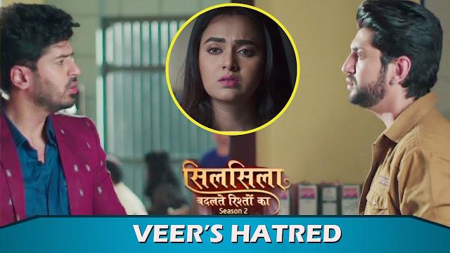 Big Bitter Clash:  Veer compares Mishti with father Kunal in Silsila Badalte Rishton Ka