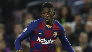 Dembele to travel to Portugal with rest of squad, doctors to determine If he plays