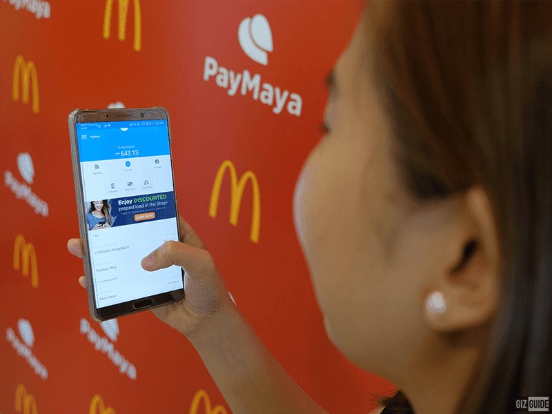 PayMayaQR is now available in more McDonald's stores nationwide!