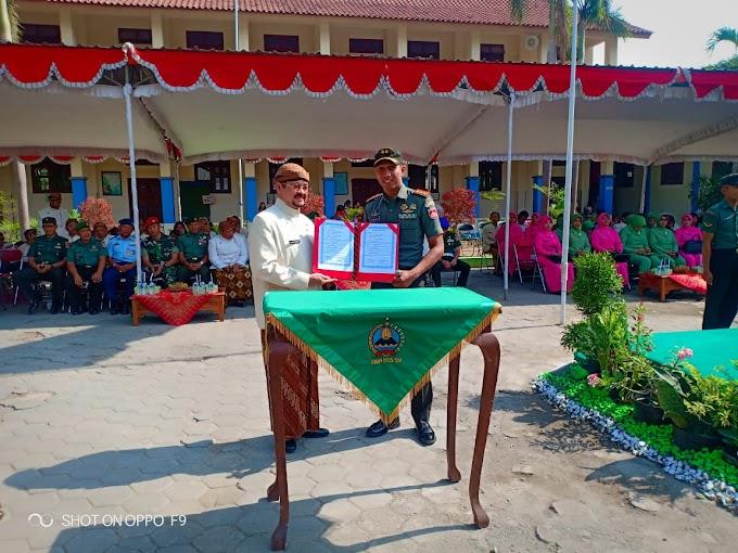 Dandim Solo Resmi Tutup TMMD di Jagalan Jebres Surakarta.