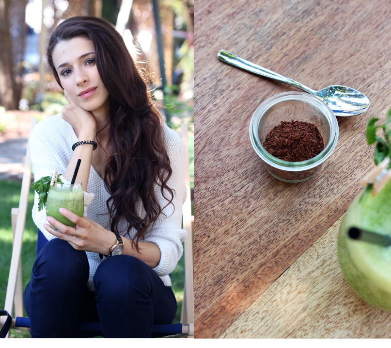 Alina Rose Blog Kosmetyczny: Kakao na włosy- gładkie i